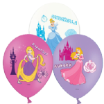"11"" Ofiicial Disney Princess Latex balloons x 6"